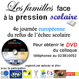 DVD du colloque du 21 septembre 2011